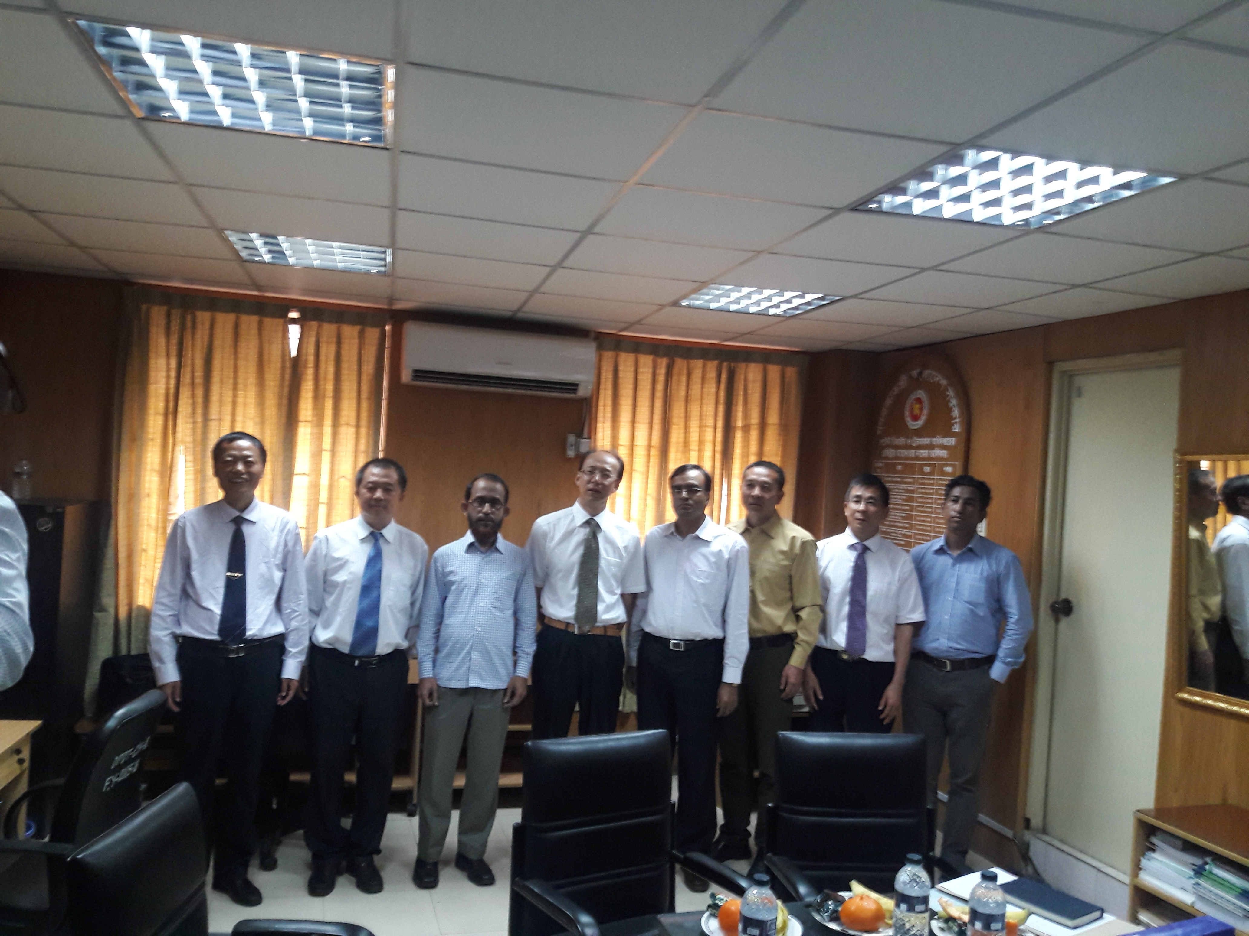 Yunnan delegates with DPDT