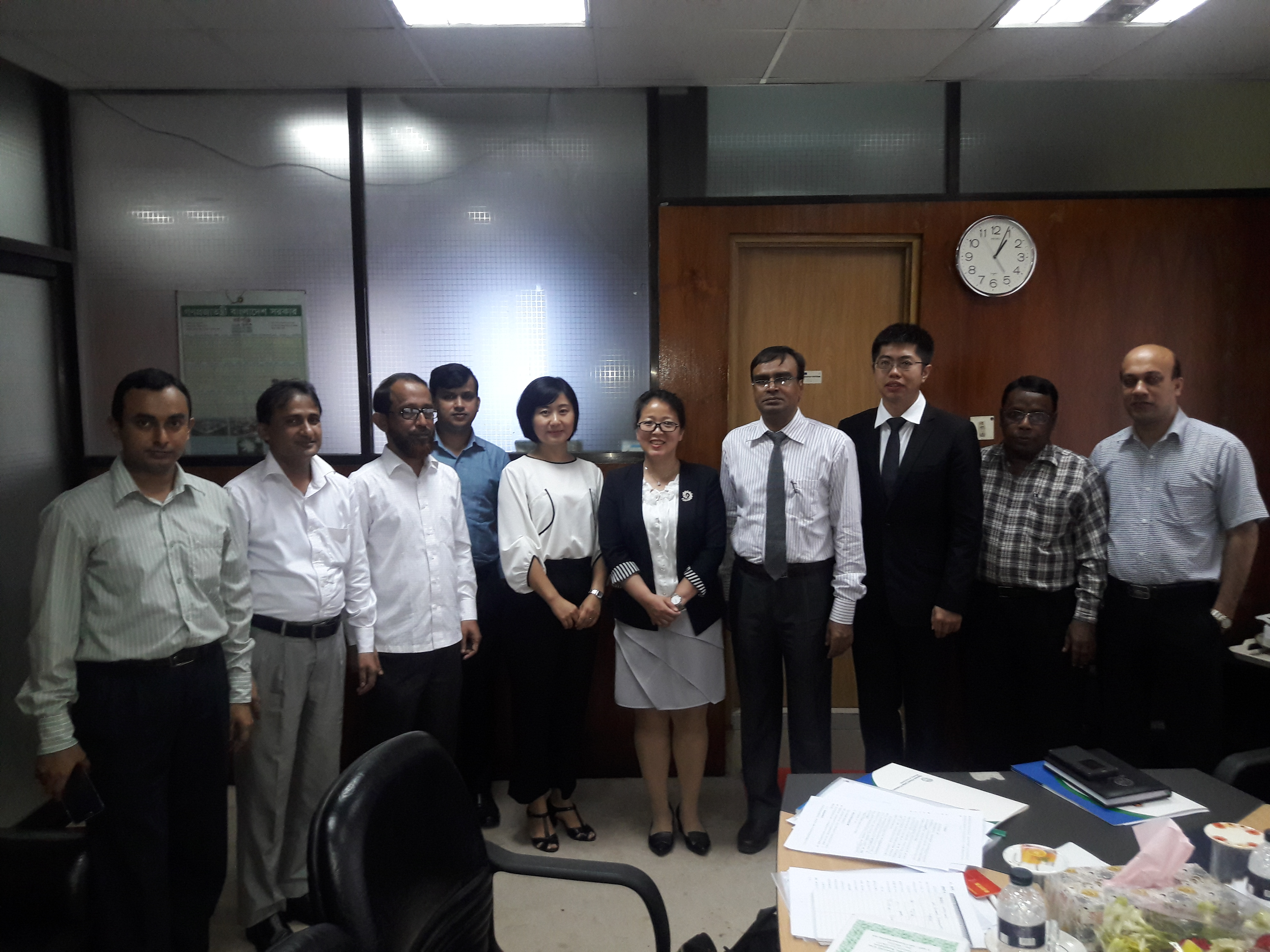 Group Photo with SIPO delegates